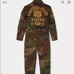 Ralph Lauren camp embroidered jumpsuit